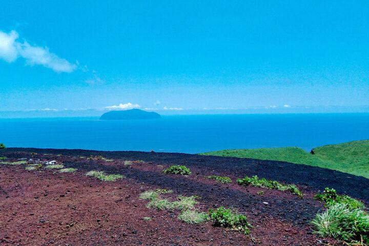 伊豆諸島を一望